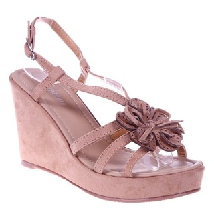 Sandale beige Carolline