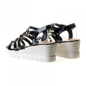 Sandale cu platforma Ema blk