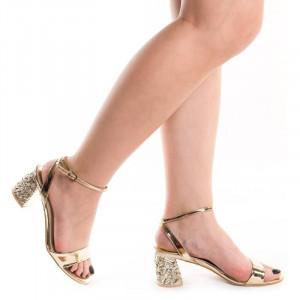 Sandale cu toc chic Gerasole