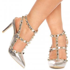 Sandale cu toc inalt Magda