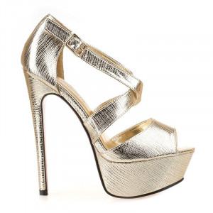 Sandale dama cu platforma la moda Mia