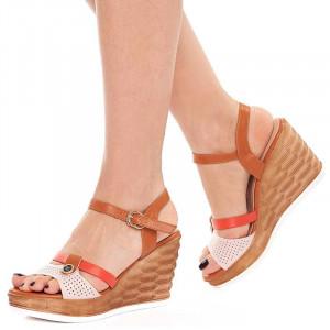 Sandale dama cu platforma usoara Olivia
