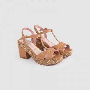 Sandale dama, DIALA, Beige