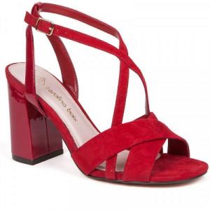 Sandale dama, KYRA, Rosu