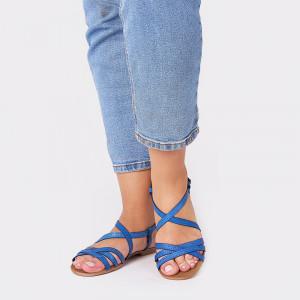 Sandale dama, LAVANDA, Albastru
