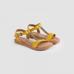 Sandale Dama MELA, Mustar