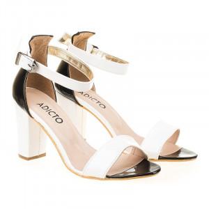 Sandale elegante cu toc Magda