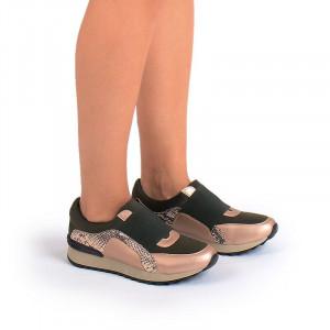 Sneakers bronze Bianca