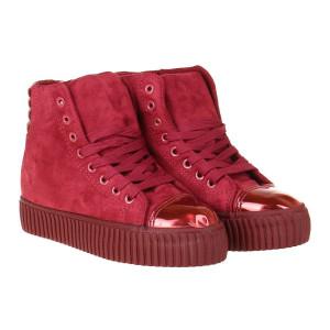 Sneakers din velur Tania