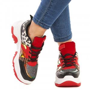 Sneakers Sabrina rosu