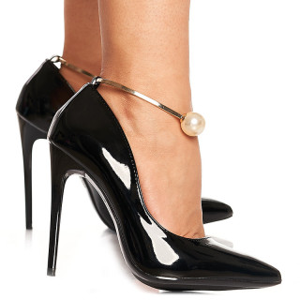Pantofi stiletto cu toc inalt Blanche