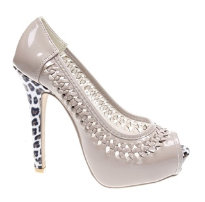 Pantofi de dama khaki Duke