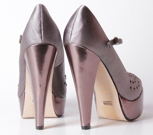 Pantofi gri BonTon