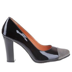 Pantofi office din piele naturala Rania