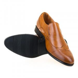 Pantofi office Martin Camel