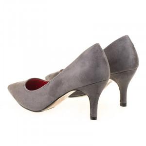 Pantofi stiletto Alberta grey