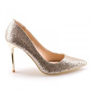 Pantofi stiletto cu toc inalt Milana