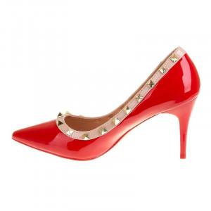 Pantofi stiletto cu toc mediu Carla
