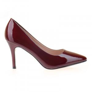Pantofi stiletto cu toc mediu comod Adria