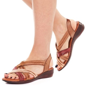 Sandale cu platforma joasa comode Adria