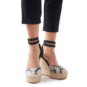 Sandale cu platforma Serpente