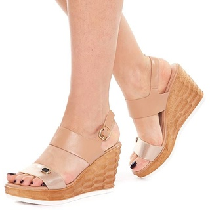 Sandale cu platforma Sherine oro