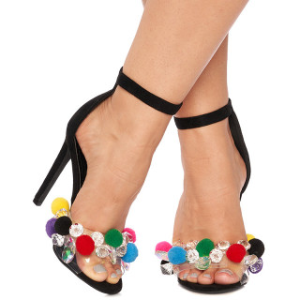 Sandale cu toc inalt Letitzia
