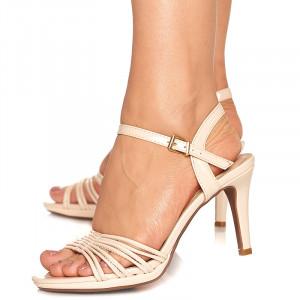 Sandale cu toc mediu Lolita
