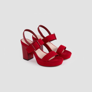 Sandale dama, AMILA, Rosu