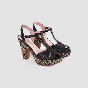 Sandale dama, CLARA, Negru