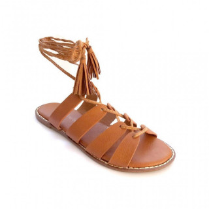 Sandale Dama, COLY, Camel