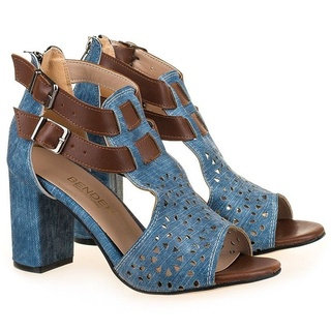 Sandale fashion cu toc Mia