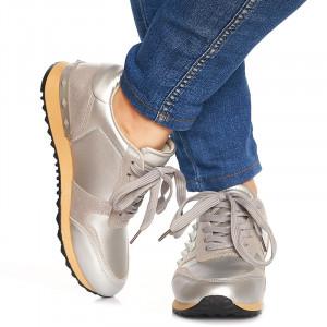 Sneakers Adelle argintiu