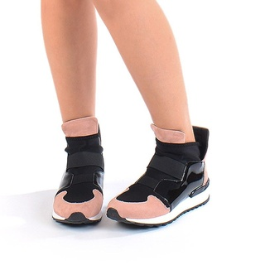 Sneakers stil dolce&gabbana roz Marta