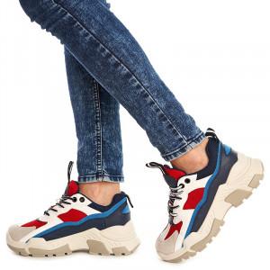 Sneakers trendy Sofia albastru
