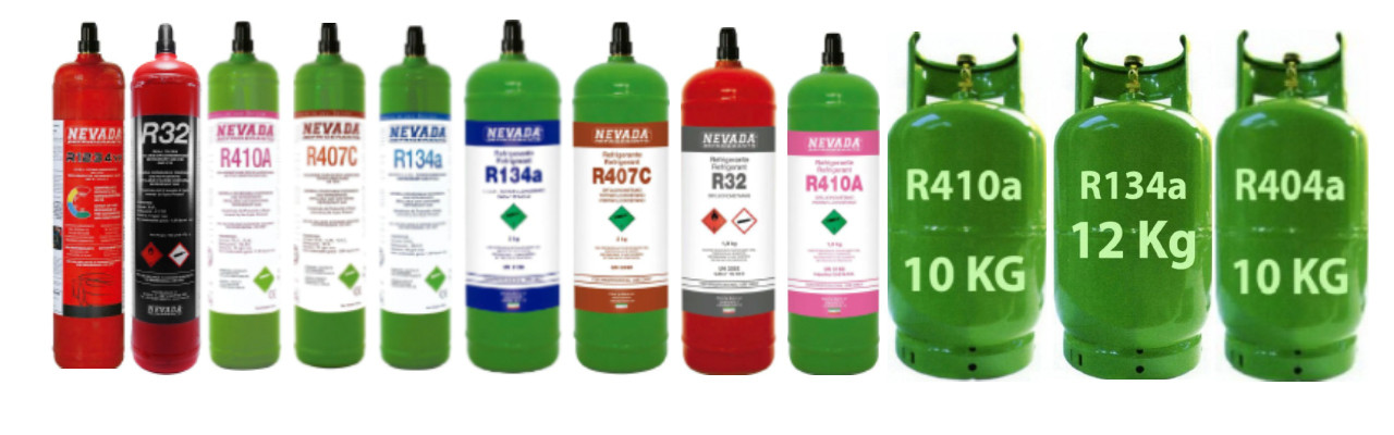 Butelii Freon R32, R134a, R410a, R407c, R1234yf