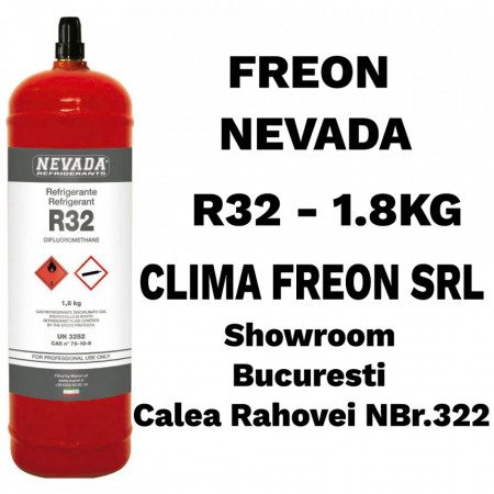 Agent Frigorific R32 - 1.8Kg - Nevada