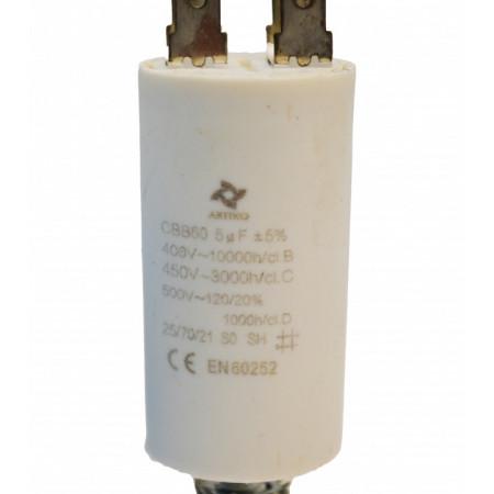 Condensator Pornire Motor, CBB60, 5uF ,450 VAC