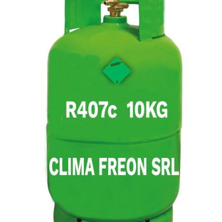 Butelie Freon R407c - 10 KG