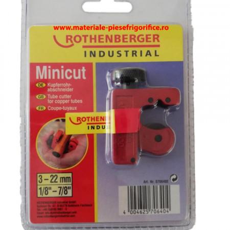 Aparat de taiattevile decupru , Minicut II Pro ROTHENBERGER