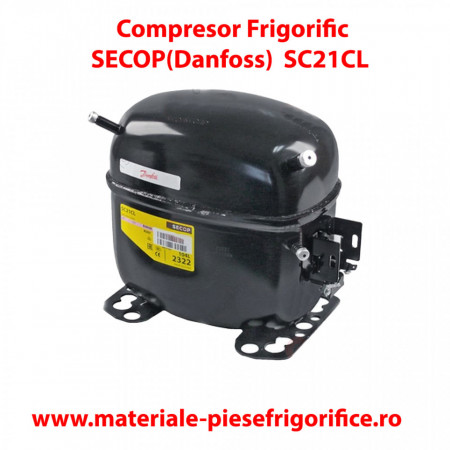 Compresor frigorific SECOP(Danfoss) SC 21 CL , SC21CL , R404A/R507 , 220-240V 50Hz