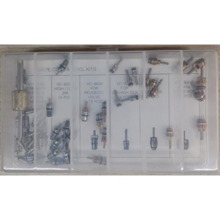 Poze Set 51 valve supape R134a sistem climatizare aer conditionat
