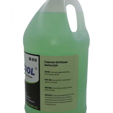 Solutie curatare instalatii aer conditionat, metal, cupru, alama non-acida Favorcool SB-910 3.8L Verde