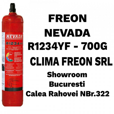 Butelie Freon R1234yf - Nevada- 700g