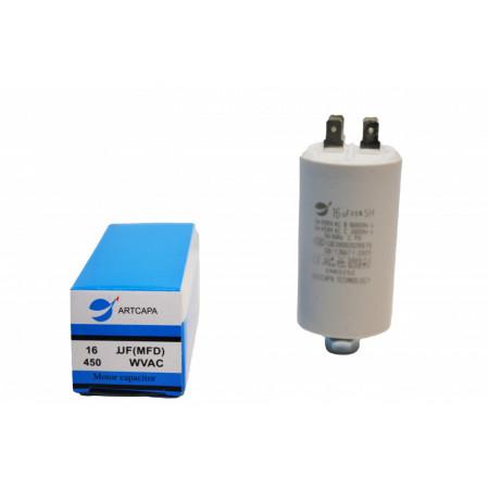 Condensator Pornire Motor Simplu, CBB60, 16uF ,450 WVAC