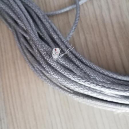 Poze Rezistenta incalzire, siliconata cu protectie metalica 25W/metru