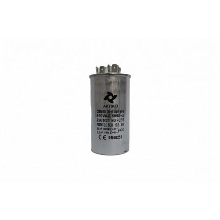Condensator Pornire Motor, CBB65, 30+1.5uF, 450V AC