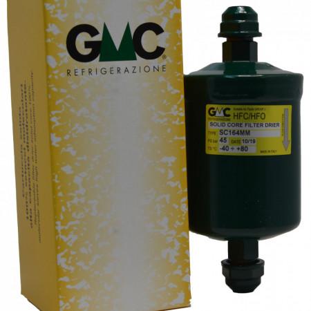 Filtru deshidrator GMC SC164MM , compatibil cu toate aparatele frigorifice care au conexiunea 1/2