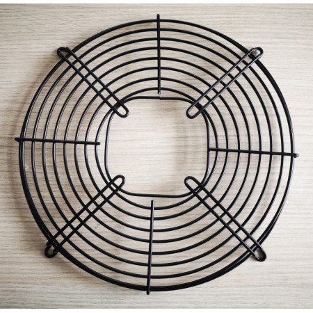 Poze Grila neagra ventilator agregat frigorific, 30 cm