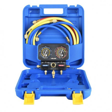 Trusa Manometre VRM2-B-0401 Value pentru Freon R 22 | R134a | R410A | R407C
